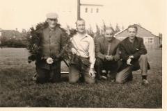 Merke 1966 Hindrik Hoogma ,Broer Zoethout, Jan van der Meer, Siebren Altenburg.