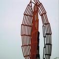 Ids Willemsma maakt kunstwerk voor aquaduct