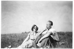 Fotoalbum Jan en Elske, 008, 80a Liesbeth en Piet