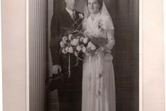 Fotoalbum Jan en Elske, 025, 67 Evert en Sjieuwke, 22 aug. 1950
