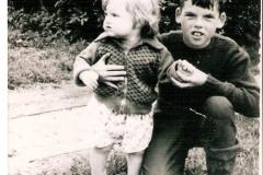 Fotoalbum Jan en Elske, 039, 55b Aggie en Dinnie