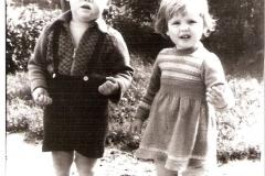 Fotoalbum Jan en Elske, 040, 55a Gerard en Bettie