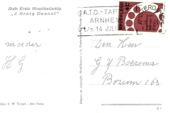 Fotoalbum Jan en Elske, 055, 44b Kaart beppe 1962