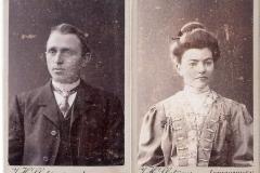Fotoalbum Jan en Elske, 105, 6 Evert (broer fan pake) en Harmke