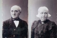 Fotoalbum Jan en Elske, 110, 1 Gerben Meintes Boersma & Elisabeth Everts Ypma, Fotoalbum Jan en Elske Boersma