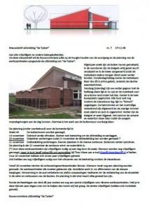Nijsbrief de Tysker - Novimber 2009 nr 7