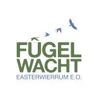 Nij logo Fûgelwacht Easterwierrum - Grien-Blauw