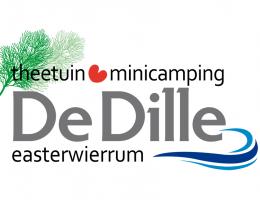 Logo Theetuin en minicamping de Dille
